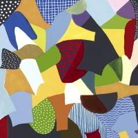 Servietten 33x33 cm - Abstract
