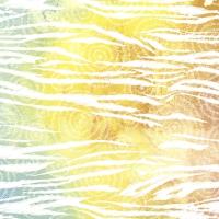 Servietten 33x33 cm - Colorful zebra