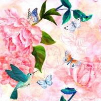 Servietten 33x33 cm - Lovely spring