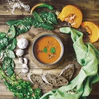 Servietten 33x33 cm - Pumpkin soup