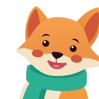 Gestanzte Servietten - Silhouettes Fox