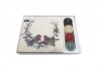 Combibox  - Birds in wreath