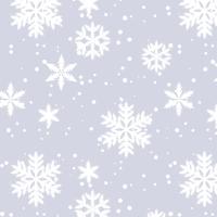 Servietten 33x33 cm - Silver Snow