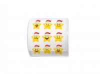 bedrucktes Toilettenpapier - Topi Santa Stars