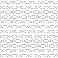 Servietten 33x33 cm - Religious grey