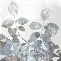 Servietten 33x33 cm - Silver leaves
