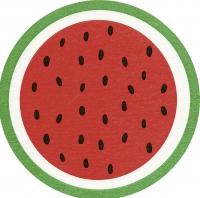 Gestanzte Servietten - Melon