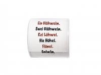 bedrucktes Toilettenpapier - Topi Glühwein