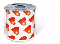 bedrucktes Toilettenpapier - Topi Hearts