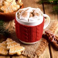 Servietten 24x24 cm - Hot chocolate