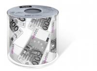bedrucktes Toilettenpapier - Topi Euro