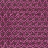 Servietten 33x33 cm - Hamp leaf pattern red