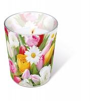 Glaskerze - Glaskerze Colourful greetings