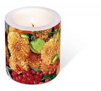 Dekorkerze - Flowers & fruits