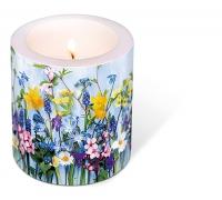 Dekorkerze - Spring flowers