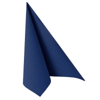 50 Servietten 40x40 cm - ROYAL Collection dunkelblau