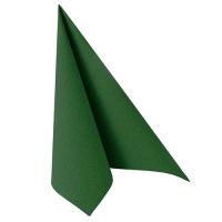 50 Servietten 40x40 cm - ROYAL Collection dunkelgrün