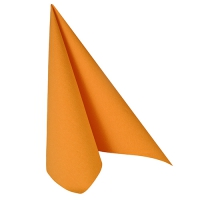 50 Servietten 40x40 cm - ROYAL Collection orange