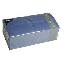 250 Servietten 33x33 cm 1/8 Falz - dunkelblau