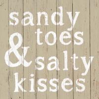Servietten 25x25 cm - Salzige Küsse