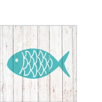 Cocktail Servietten Cabana Fish