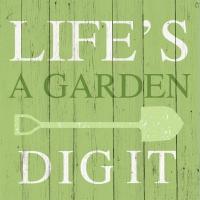 Servietten 25x25 cm - Life´s a Garden
