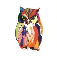 Servietten 25x25 cm - Leros Owl