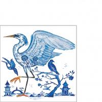 Servietten 25x25 cm - Prince's Egret