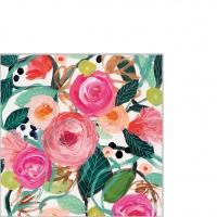 Servietten 25x25 cm - La Belle Rose