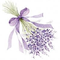 Servietten 25x25 cm - Lavender