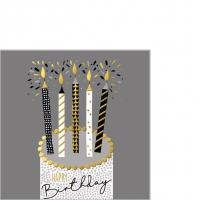 Servietten 25x25 cm - Capisco Birthday