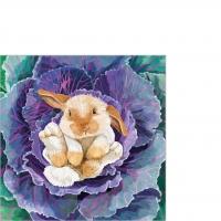 Servietten 25x25 cm - Babs the Bunny