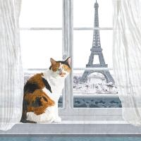Servietten 25x25 cm - Madeleine à Paris