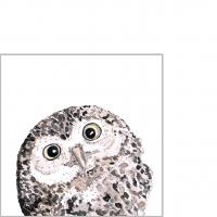 Servietten 25x25 cm - Owl Napkin 25x25