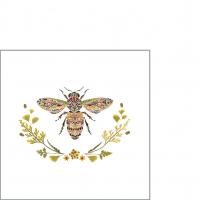 Servietten 25x25 cm - Green Bee