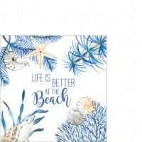 Servietten 25x25 cm - Ocean Life is better