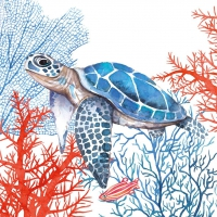 Servietten 25x25 cm - The Turtle