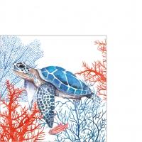 Servietten 25x25 cm - The Turtle Napkin 25x25