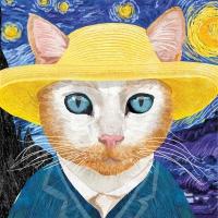 Servietten 25x25 cm - Vincent
