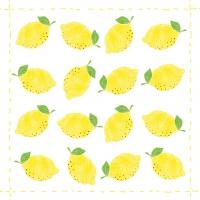 Lunch Servietten Fashion Lemon allover