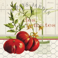 Lunch Servietten Les Tomates