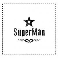 Servietten 33x33 cm - Super Man