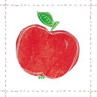 Lunch Servietten Fashion Apple Red