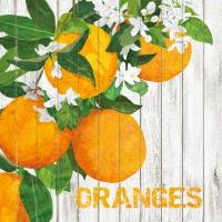 Lunch Servietten Harvest Oranges