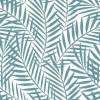 Servietten 33x33 cm - Palmblätter Salbei