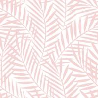 Servietten 33x33 cm - Palm Leaves rosé
