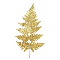 Servietten 33x33 cm - Fern white gold