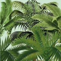 Servietten 33x33 cm - Palm Trees