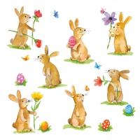 Servietten 33x33 cm - Lovely Easter