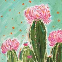 Servietten 33x33 cm - Sonora Cactus